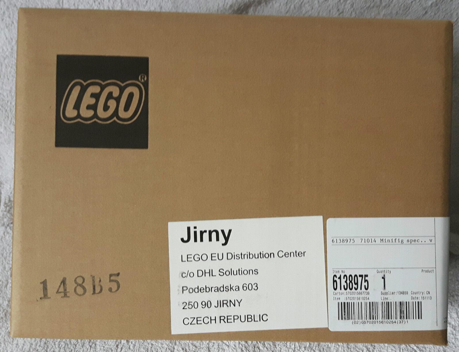 Lego 71014 60 series mini figurines dfb the  team em display box & nouveau  beaucoup de surprises