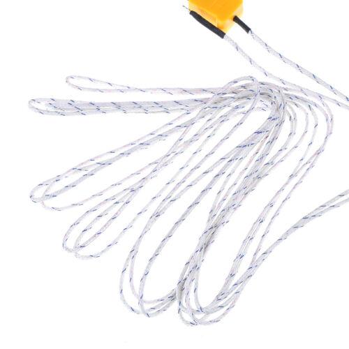 1PC 5m K type temperature sensor thermocouple probe cable wire  PLFNIUS