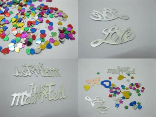 21620 Wedding Party Table Decoration Confetti Assorted