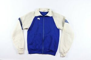 Vintage-70s-New-Soffe-Mens-Small-Full-Zip-Soft-Warm-Up-Track-Jacket-Blue-USA