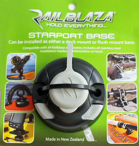 Railblaza Round Starport Base for Kayaks and Boats