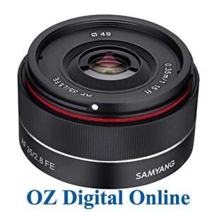 New-Samyang-AF-35mm-f-2-8-FE-Lens-for-Sony-E-Mount-1-Year-Aust-Wty