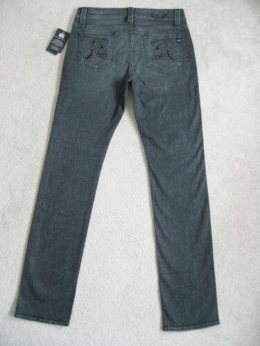 Colburg Mens Studs Jeans Met Nwt 33 Skinny Nieuw Maat Grey RockRepublic Antila fv6yY7Ibg