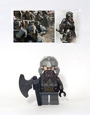 figurine Lego The Hobbit - Custom Iron Hills Dwarf  - 79013  - 79017  - 79018