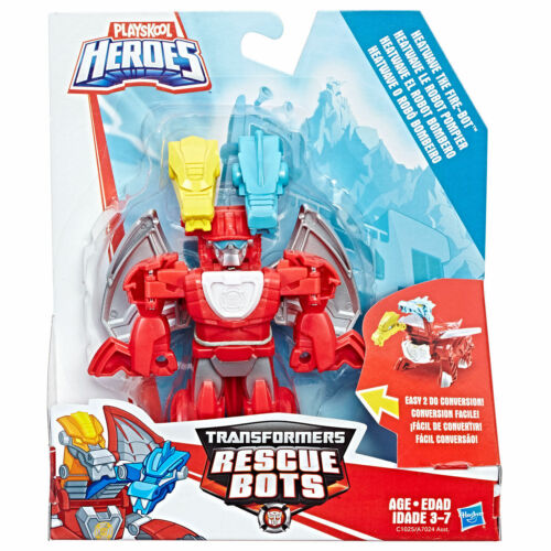 RARE Playskool Heroes Transformateurs Rescue Bots Heatwave le feu-BOT de dragon