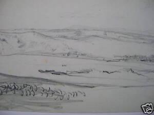 ENGLAND-ESTUARY-SHEERNESS-PENCIL-FRANK-L-EMANUEL-c1910