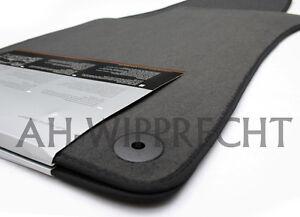 NEU Audi RS4 S4 A4 B6 B7 8E Stoffmatten Veloure Matten Fußmatten vorn Fußmatte