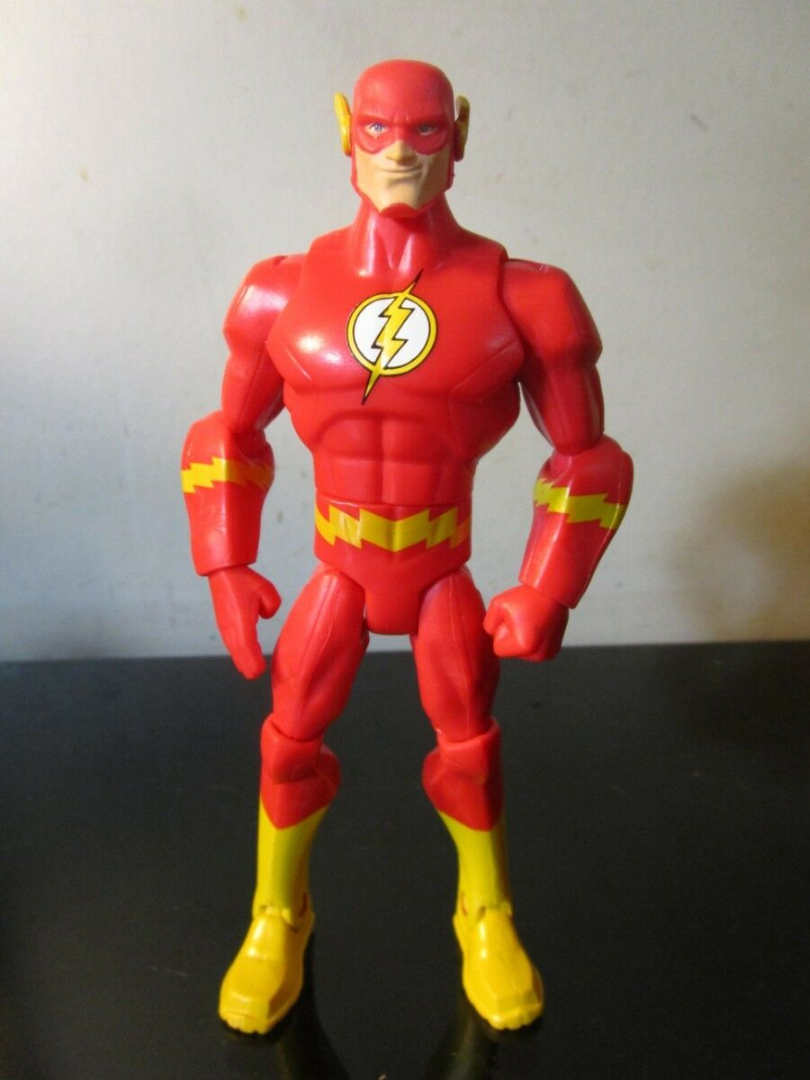 DC UNIVERSE Total Heroes THE FLASH toy figure Mattel Series justice league DCU