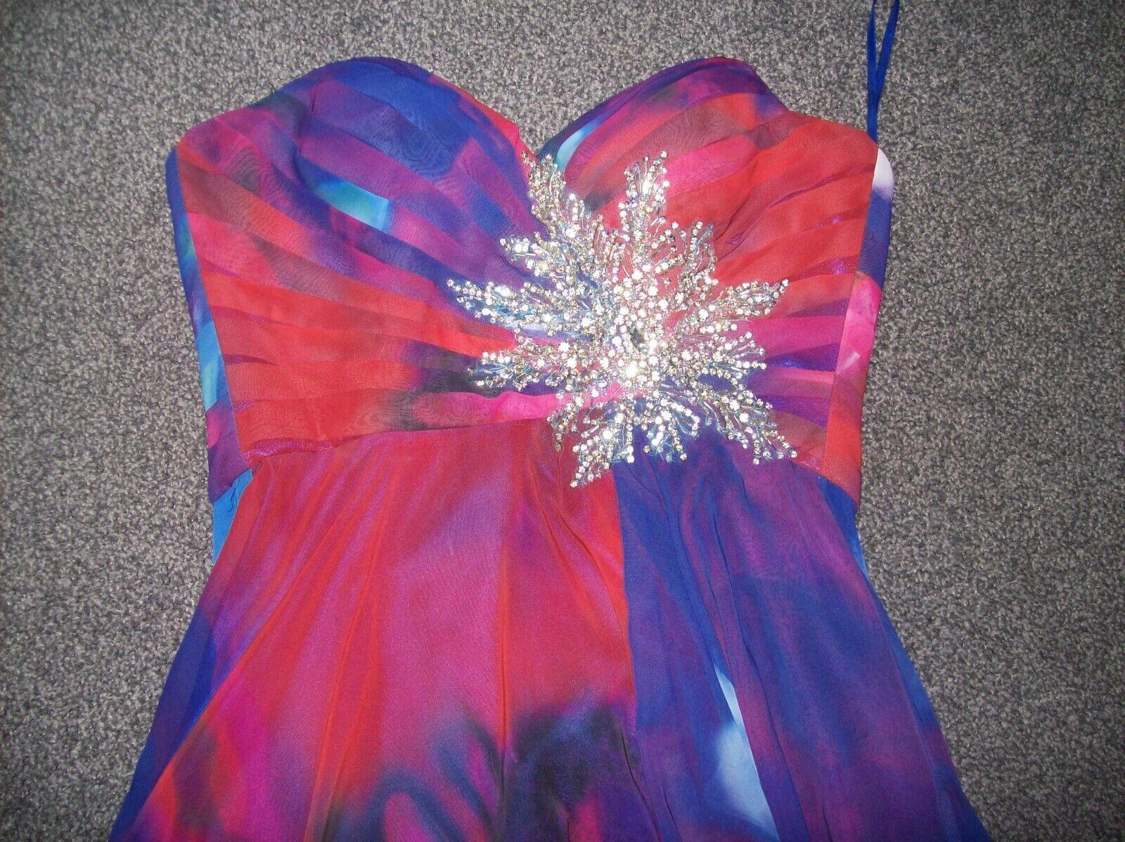 Vestido de baile Vestido De Fiesta impresionante Y  Hermoso ... Talla 16... Rubí Baile de graduación  100% precio garantizado