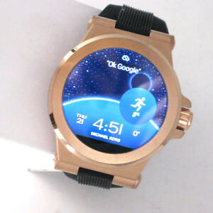 1acca2ae580b Image is loading Michael-Kors-Access-Touchscreen-Rose-Dylan-Smartwatch -MKT5010-