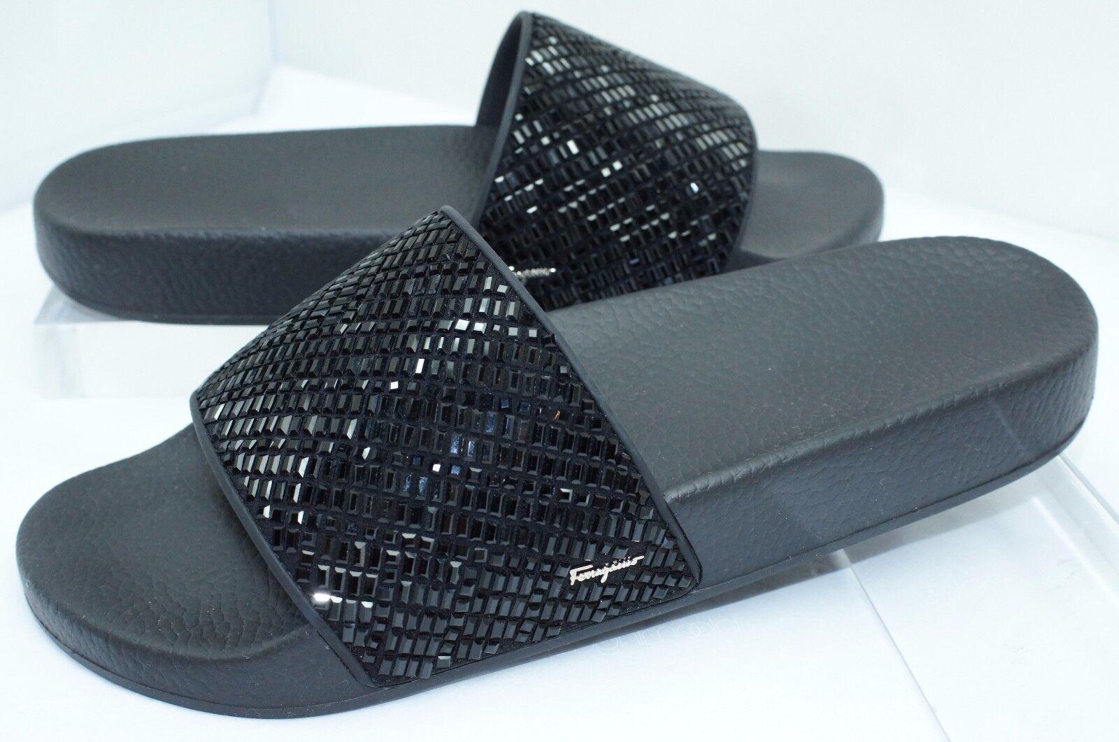 Slide Shoes Size 8 Groove J Flats