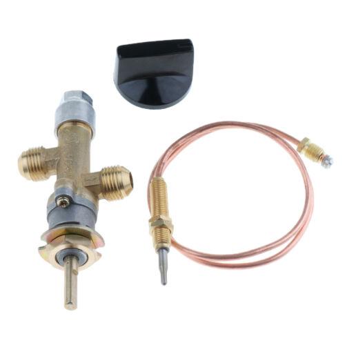 Gasofen Propangas Gasgrubenheizungsregelventil mit Thermoelement und Knopf
