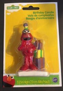 Image Is Loading Sesame Street Elmo Birthday Cake Candle Wilton 3464