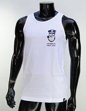 Primitive Skateboard Capintan White Mens T shirt Tank Top size Medium