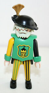 PLAYMOBIL-3652-3666-PERSONNAGE-TOURNOI-CHEVALIERS-CASTLE-TRUMPETER