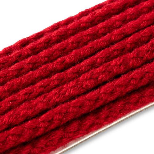 1,56€//m Prym 3m Parkakordel 4mm rot Kordelband Einziehen in Parkas 972504