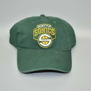 Seattle-Sonics-Supersonics-Reebok-NBA-Relaxed-Fit-Dad-Cap-Hat-Size-Large