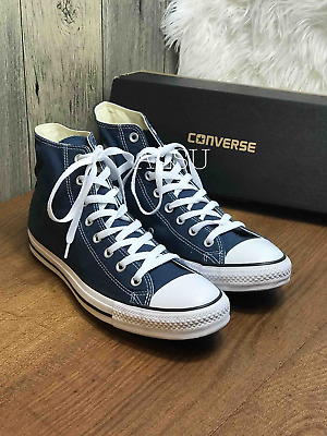 Sneakers Men's Converse Chuck Taylor All Star High Top Navy White 151902C | eBay