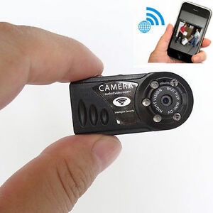 WIFI Wireless IP MINI IR Camera spy nanny Security IR Night Vision ...