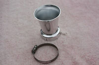 50mm Velocity Stacks Bmw Honda Cb Cl Twins 50 Mm Silver Sold Each
