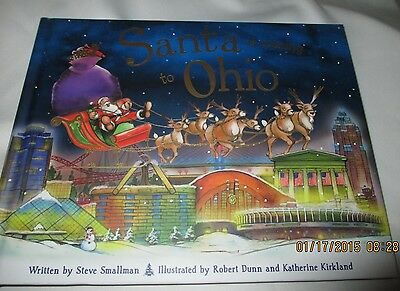 Santa Is Coming to Ohio by Steve Smallman (2012, Hardcover) New