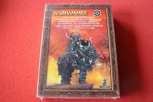 Jeux Atelier Warhammer Seigneur du Chaos sur Daemonic Mount Steed Mounted Metal New Gw