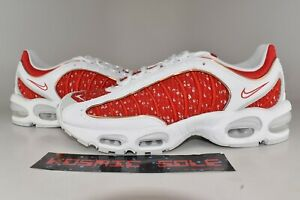 Details about Nike Air Max Tailwind 4 Supreme White Style # AT3854 100 Size 11.5