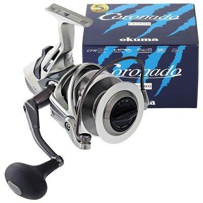 Okuma Coronado CDX Bait feeder Spinning Reel 37.5lb Drag CDX-80