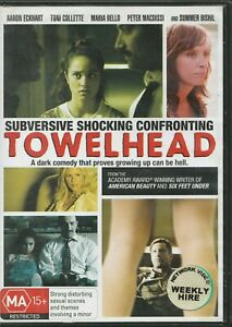 Towelhead-DVD-2009-Rated-MA15-Region-4-PAL-Aaron-Eckhart-Bello-amp-Colette