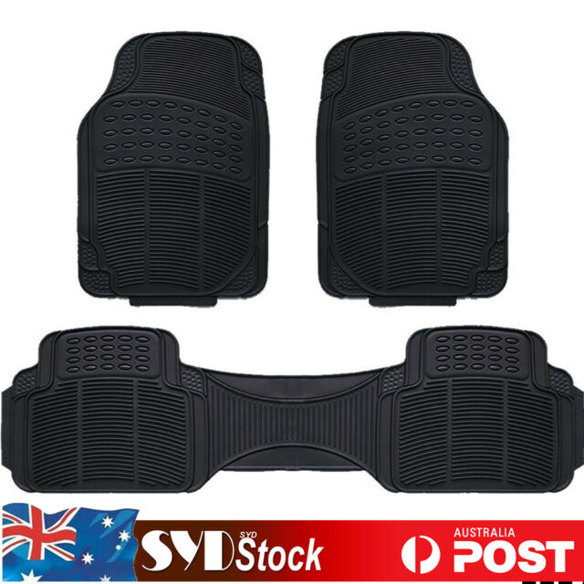 3PCS All Weather Car SUV Floor Mat Anti-Slip Carpet For Holden Captiva Commodore