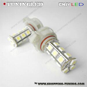 2 ampoule 18 led anti brouillard citroen ds 1 2 ds3 c3 c4 psx24w p19w h16 blanc ebay. Black Bedroom Furniture Sets. Home Design Ideas