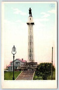 New-Orleans-LA-Gen-Lee-Pedestal-Monument-Light-Bulb-Lamp-Post-1910-Detroit-Pub
