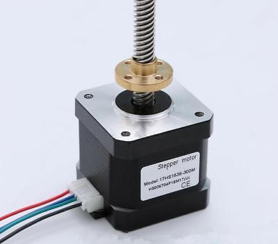 300mm T8 Lead Screw New 0.55Nm NEMA 17 Stepper Motor for 3D Printer