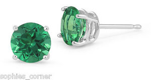 2-ct-Emerald-Round-Basket-Set-Stud-Earrings-in-Solid-Sterling-Silver