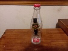 Coca-Cola Watch in a Bottle Collectible With Coke on The Face