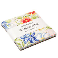 Moda Fabric Charm Pack Wildflowers Viii By Moda 42 - 5 Squares