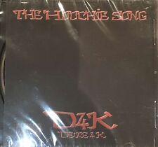 D4K Duece 4K - The Hoochie Song 2005 RAP CD SINGLE NEW HTF