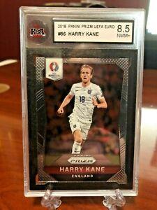 2016-Panini-Prizm-UEFA-Harry-Kane-Base-56-England-KSA-8-5-NMM