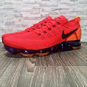 7e179633b8fe Nike Air VaporMax 2.0 Flyknit Red Orbit Running Shoe (AR5406-600 ...