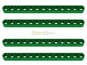 4x LEGO® Technic 41239 Liftarm 1 x 13 breit grün NEU thick green LEGO Bau- & Konstruktionsspielzeug Baukästen & Konstruktion