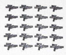 Lego Lot of 20 New Pearl Dark Grey Star Wars Guns Weapons Blasters Pieces