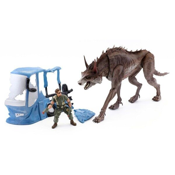 Rampage Movie BIG CITY BRAWL BRAWL BRAWL Ralph (Wolf) Play Set Action Figures Toy New 59612f