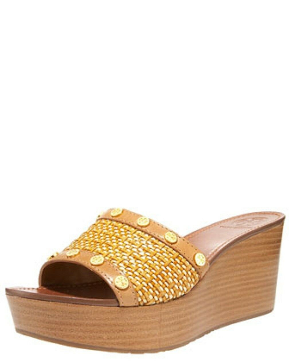 Tory Burch 'Joanie' Cuña (mujeres) M, tan real natural