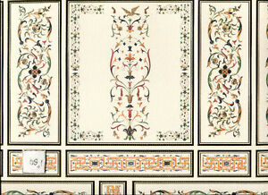 World-amp-Model-Relief-34804-Wallpaper-Panel-dollhouse-1pc-1-12-scale