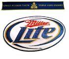 Miller Beer Embroidered Patch Set large