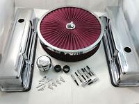 Sb Chevy Sbc Chrome Engine Dress Up Kit Tall Style 1958-1986 283 327 350 400 V8