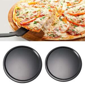 Non-stick-Bakeware-Pizza-Pan-Kitchen-Baking-Trays-Pan-Round
