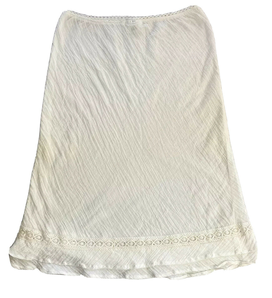 Fairycore White mid lenght skirt - image 1
