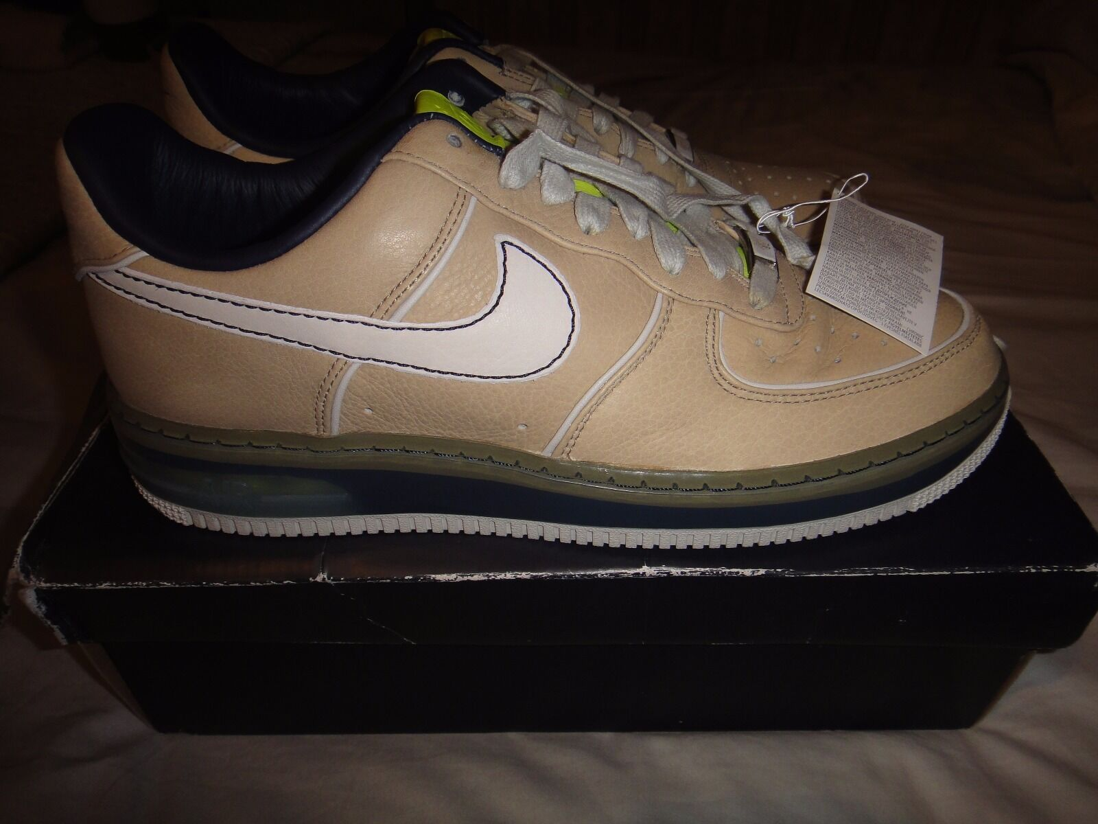 Nike Air Force 1 SPRM Max Air 07 tweed taille 9 Deadstock