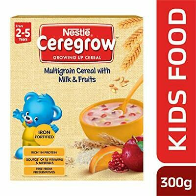 300g Bag-in-bo Self-Conscious Nestlé Ceregrow Fortified Multigrain Cereal With Milk And Fruits Feeding